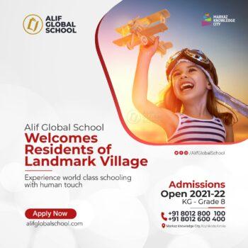 Welcome landmark village