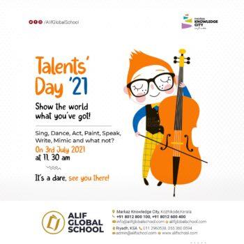 Alif-Talents Day